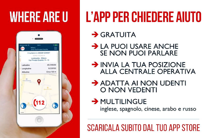 where are you app vigili del fuoco sale marasino